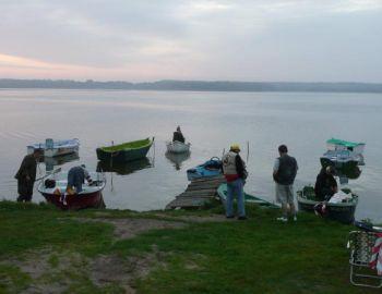 Spinningowe mistrzostwa koła na Jeziorze Białoławka